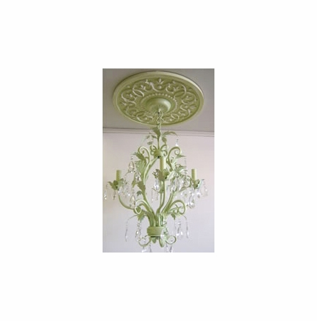 Vines Round Chandelier Medallion