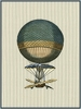 Vintage Ballooning III Canvas Reproduction