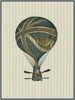 Vintage Ballooning IV Canvas Reproduction