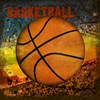 Vintage Basketball Canvas Wall Art