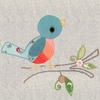 Vintage Birdie Canvas Wall Art