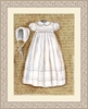 Vintage Christening Gown Framed Art