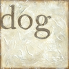 Vintage Dog Canvas Reproduction