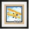 Vintage Fly Framed Art Print