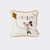 Vintage Kite Dog Throw Pillow