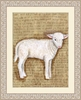 Vintage Lamb Framed Art