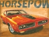 Vintage Muscle I Canvas Reproduction