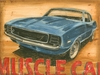 Vintage Muscle II Canvas Reproduction