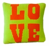 Vintage Pillow with Love
