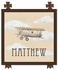 Vintage Plane III Canvas Reproduction