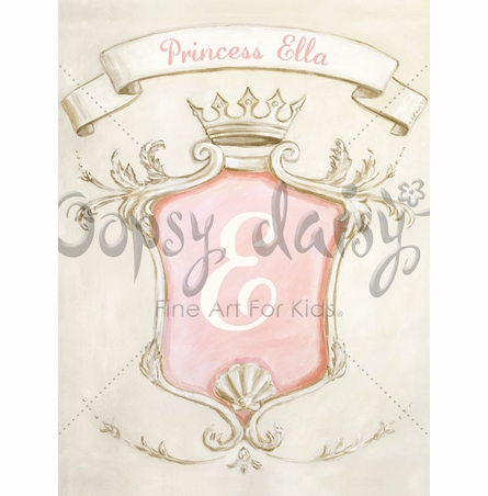 Vintage Princess Canvas Wall Art
