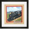Vintage Ride Framed Art Print