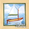 Vintage Sail Canvas Wall Art