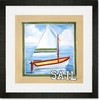 Vintage Sail Framed Art Print