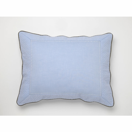 Vintage Sports Chambray Duvet Cover