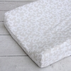 Vintage Taupe Vine Changing Pad Cover