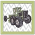 Vintage Tractor Toy Canvas Reproduction