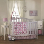 Violet 4-Piece Crib Bedding Set