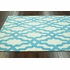 Viv Plush Cotton Rug Aqua