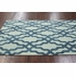 Viv Plush Cotton Rug Blue