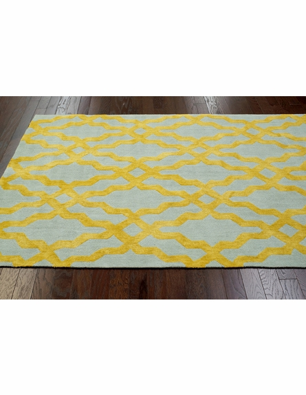 Viv Plush Cotton Rug Gold