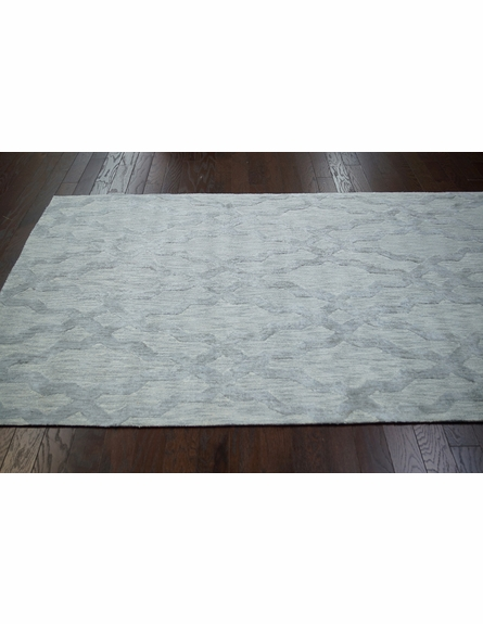 Viv Plush Cotton Rug Grey