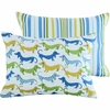 Wagging Dog Boudoir in Blue