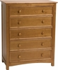 Wakefield Five Drawer Chest