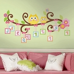 Girls Wall Decals & Murals