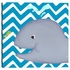 Wallace Whale Diptych in Turquoise Canvas Reproduction