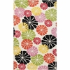 Warm Umbrella Flowers Dreamscape Rug