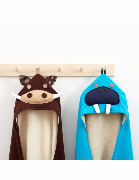 Warthog Cotton Hooded Towel