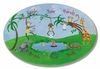 Wash Your Hands Jungle Wall Plaque