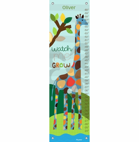 Watch me Grow - Boy Growth Chart