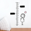 Watch Me Grow Girl Wall Decal