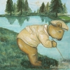 Water Gopher Canvas Reproduction