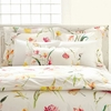 On Sale Watercolor Flowers Euro Sham