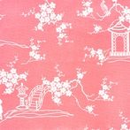 Watermelon Pagoda Fabric by the Yard