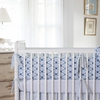 Wave Castle Crib Bumper