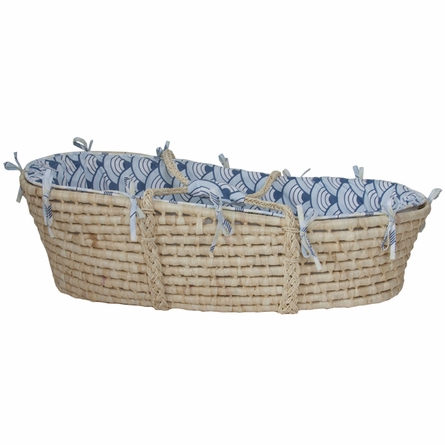 Wave Castle Moses Basket