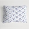 Wave Diamond Boudoir Pillow