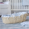 Wave Diamond Moses Basket