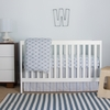Wave Diamond Perfect Fit Crib Sheet
