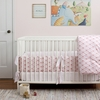Wave Orange 3-Piece Crib Bedding Set
