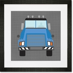 Ways To Wheel Mac Truck Framed Art Print