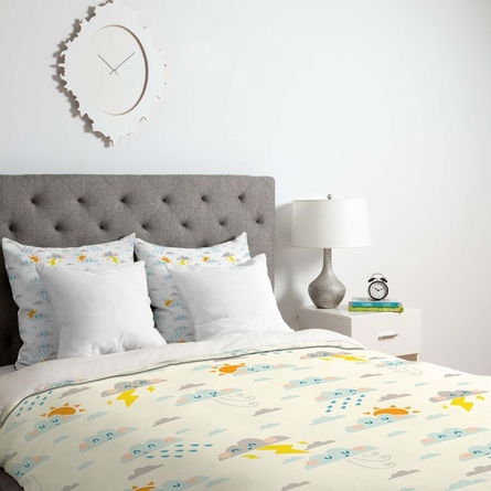 Weather Clouds Lightweight Duvet Cover