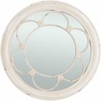 Weathered Charm White Mirror
