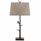 Weber Bird on a Limb Table Lamp