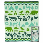 Weegoamigo Baby Blanket - Wilderness
