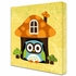 Welcome Friends Owl Canvas Reproduction